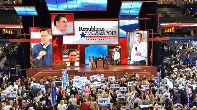 Elecciones EE.UU. 2012: «¡Mitt, Mitt, Mitt!», por fin corean a Romney