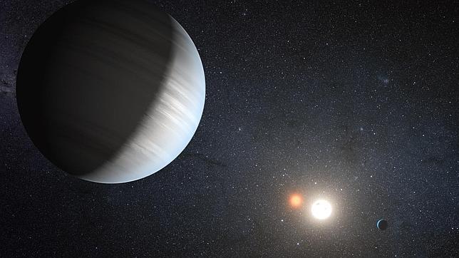 Hallan el primer sistema planetario alrededor de dos soles