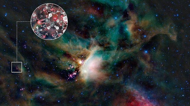 Hallan uno de los «ingredientes» de la vida en el gas de una estrella joven
