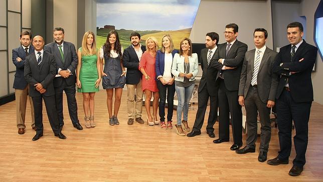 Presentadores de la programaci n de la televisi n de for Canal castilla la mancha