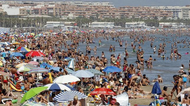 Playa de la malvarrosa en valencia - Hoteles en la playa de la malvarrosa ...