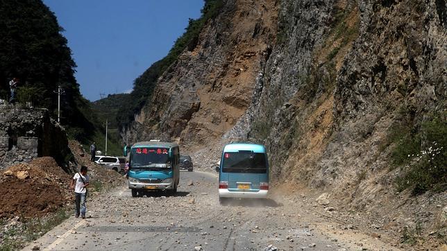 Al menos 43 muertos en una cadena de terremotos en China