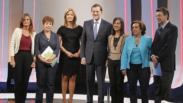 Rajoy: «Si hay algo que no tocaré son las pensiones, he dado esta instrucción»