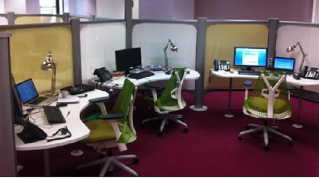 Una empresa alquila oficinas por un euro la hora en la for Oficinas por horas