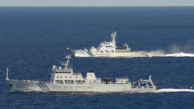 Patrulleras de China y Japón, frente a frente en los islotes disputados
