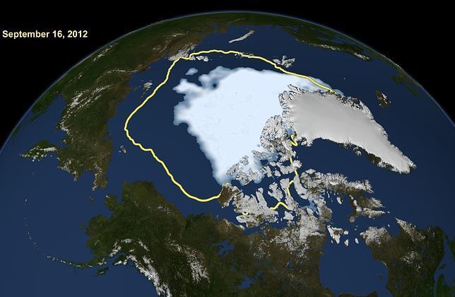 El deshielo del Ártico alcanza un alarmante máximo histórico