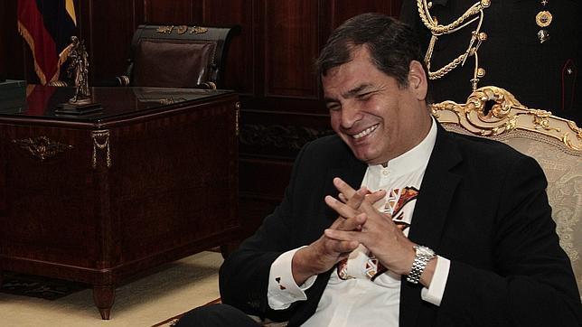 Rafael Correa sobre el caso Assange: «Lo que no haremos nunca es negociar sobre Derechos Humanos»