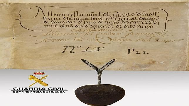 Desaparecen varios pergaminos históricos