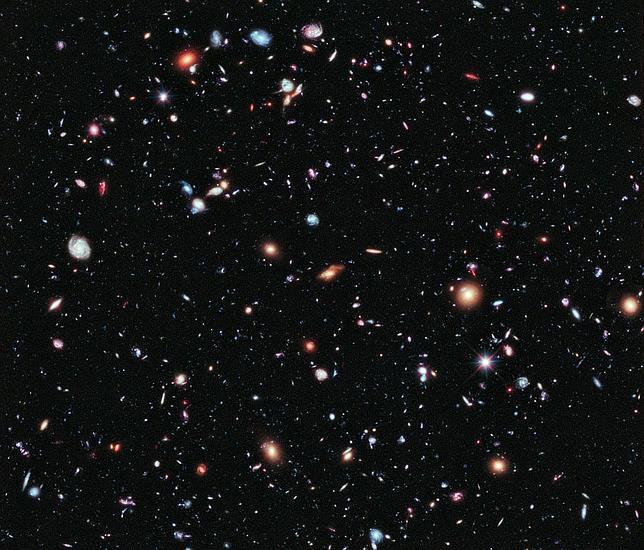 El Hubble muestra la imagen más profunda del Universo