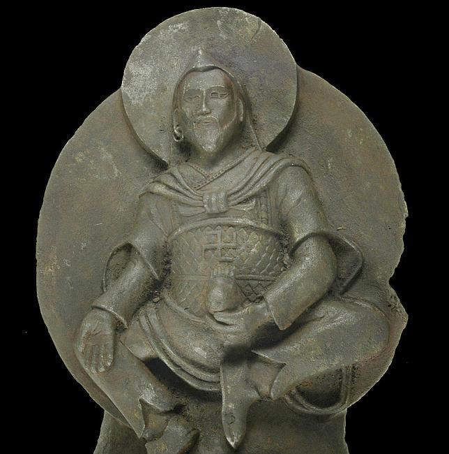 Origem extraterrestre revelado de uma estátua budista de que os nazistas saquearam