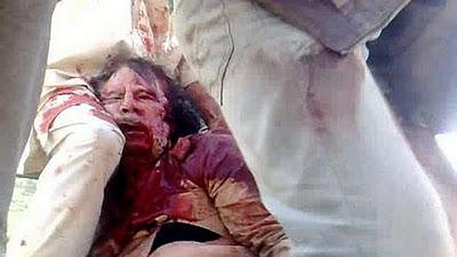 Un agente francés, detrás de la muerte de Gadafi