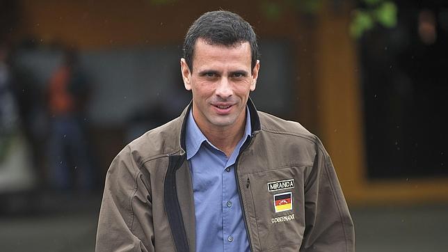 """Capriles: """"Allá Chávez con sus insultos, quiero una Venezuela unida"""""""