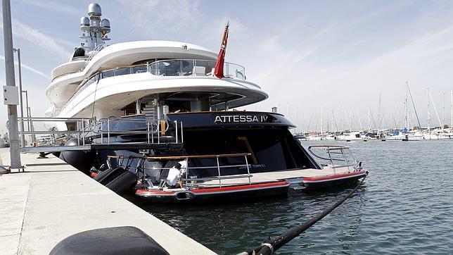 La Marina Real de Valencia está al 70 % de su capacidad