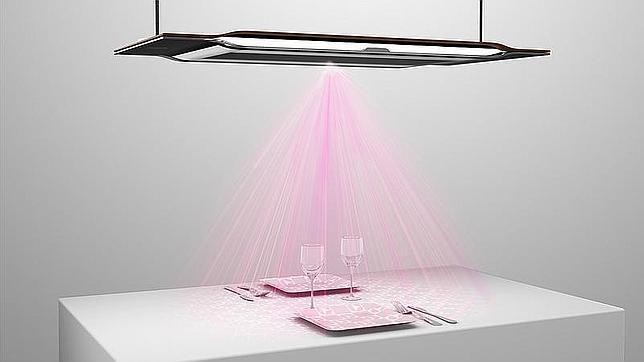 Una lámpara interactiva, el proyecto de un diseñador español para ...