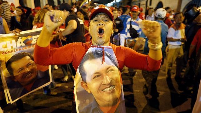 Hugo Chávez, ganador de las elecciones presidenciales en Venezuela