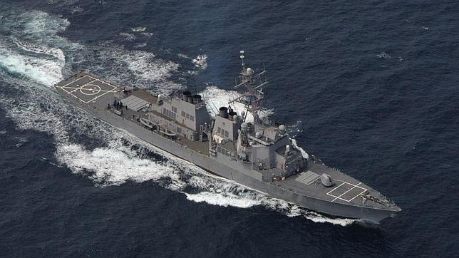 : «USS Ross», «USS Donald Cook», «USS Porter» Y «USS ...