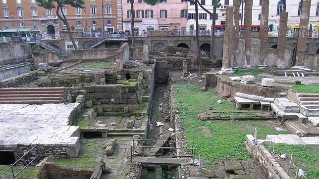 La Curia de Pompeyo, lugar donde fue asesinado Julio Csar en el ao 44 a.C
