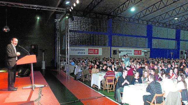 Los partidos gastaron 289.339 euros en ágapes durante las elecciones municipales