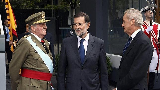 Pedro Morenés, en ABC Punto Radio: «No sé de qué hablaron el Rey y Rajoy»