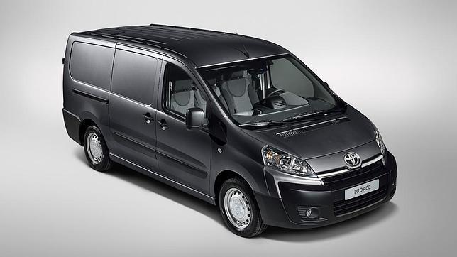 Toyota ProAce, nuevo comercial medio