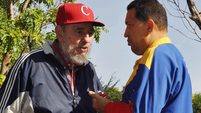 Chávez visita a Castro, en plena tormenta de rumores sobre su salud deteriorada