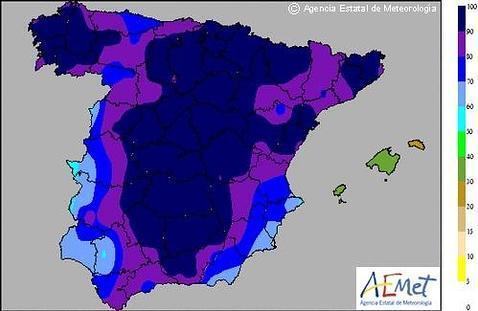 Mapa Del Tiempo España Fin De Semana.Lluvia Desde Hoy Y Mucho Frio Para El Fin De Semana Abc Es
