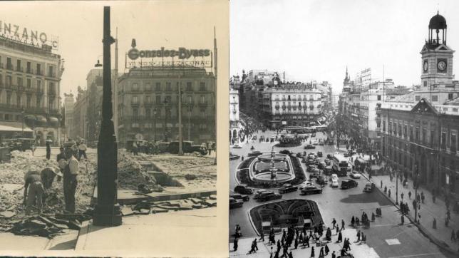 Verdades y falsos mitos del hist rico luminoso de t o for Puerta del sol historia