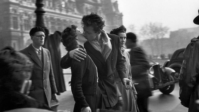 El beso más famoso del mundo, tomado en 1950