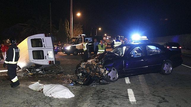 Muere Fernando Alonso en un trágico accidente de coche.
