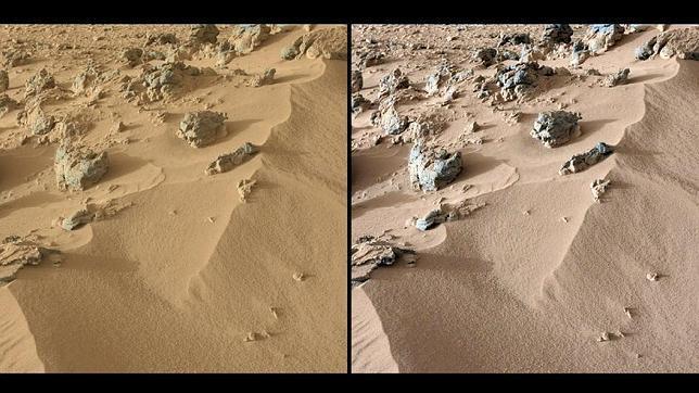 Curiosity concluye que el suelo de Marte es parecido al de Hawaii