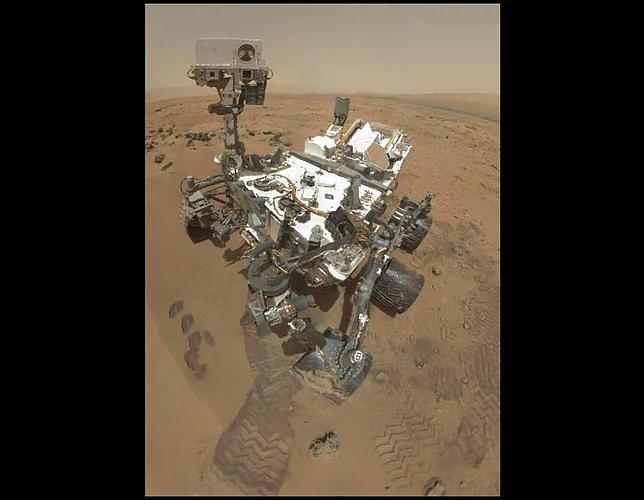 El último y más impresionante autorretrato del Curiosity en Marte