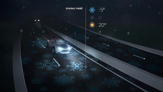 Una carretera inteligente que brilla en la oscuridad Carretera-inteligente-q--644x362