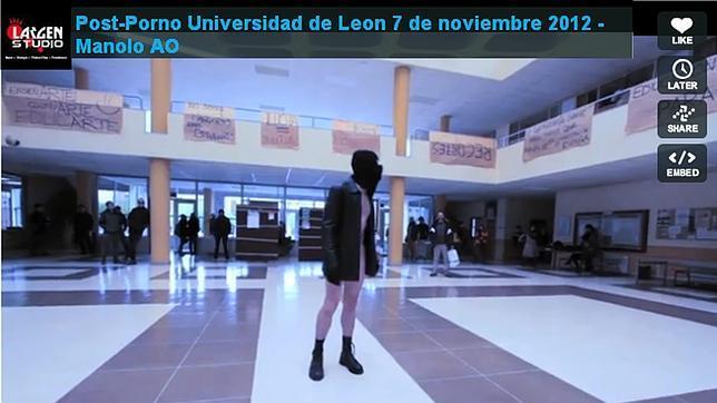 Escándalo en la Universidad de León por la grabación en sus instalaciones de un vídeo de «porno terrorismo»