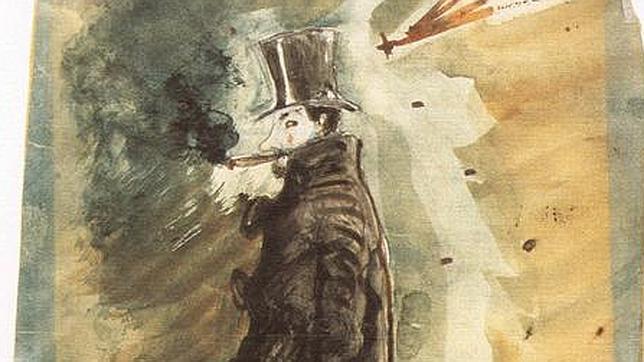 Fragmentos y dibujos: los pequeños arrebatos de Charles Baudelaire