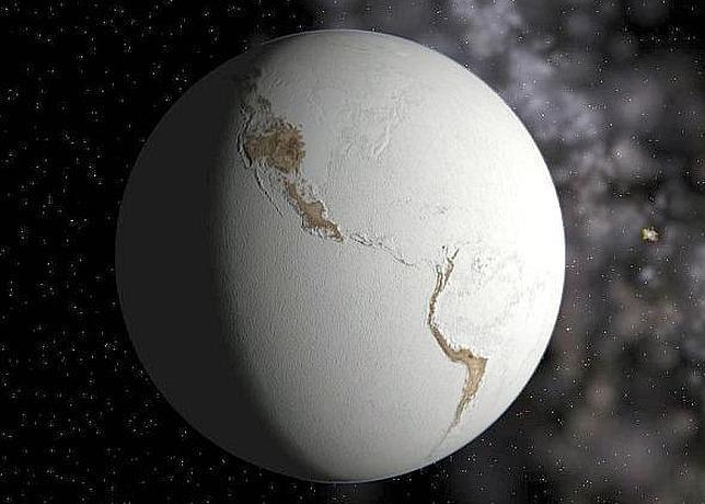 Sí, la Tierra pudo ser una inmensa bola de nieve