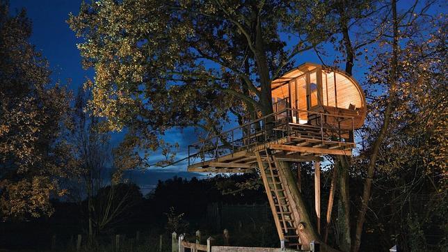 Las casas en los arboles mas increibles del mundo taringa for Hotel con casas colgadas de los arboles
