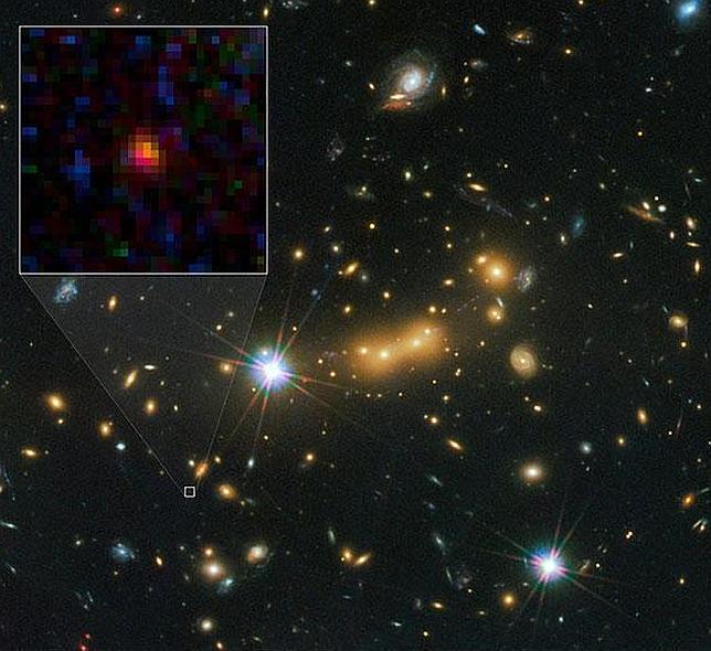 Resultado de imagen de La Galaxia más lejana