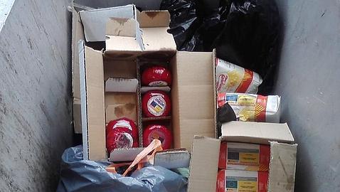 Comida de la UE enviada a España para los más necesitados acaba en la basura