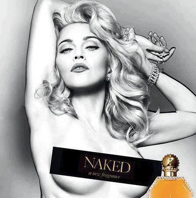 Madonna Se Desnuda Para Promocionar Su Nuevo Perfume