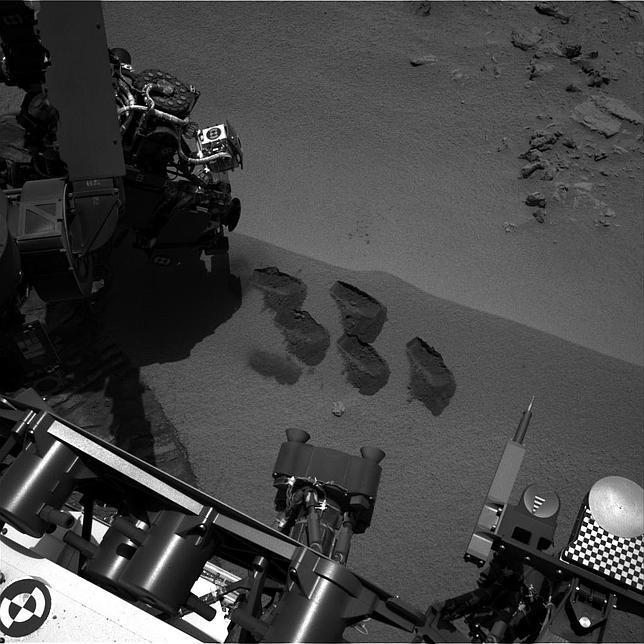 El Curiosity podría haber encontrado vida en Marte