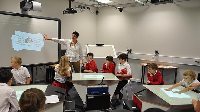 Modern Day Classroom Design ~ Aulas a lo star trek la clase del futuro abc