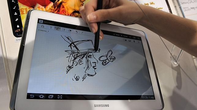 Samsung prepara su telfono con pantalla flexible para principios de 2013