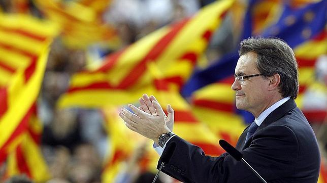 artur mas reuters   644x362 Elecciones catalanas 2012: El «pásalo» de «La Vanguardia»