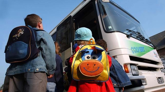 los autobuses escolares suspenden en seguridad