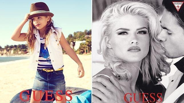 La hija de la conejita de Playboy Anna Nicole Smith, nueva imagen de Guess 712ff36be4