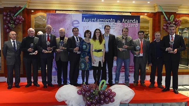 Los Premios Envero coronan en Aranda los mejores vinos de la Ribera del Duero