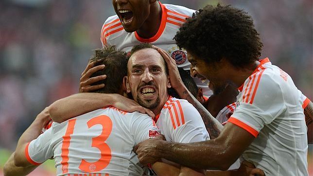 Ribery: «Podemos ganar a cualquiera, incluidos Barça y Rea
