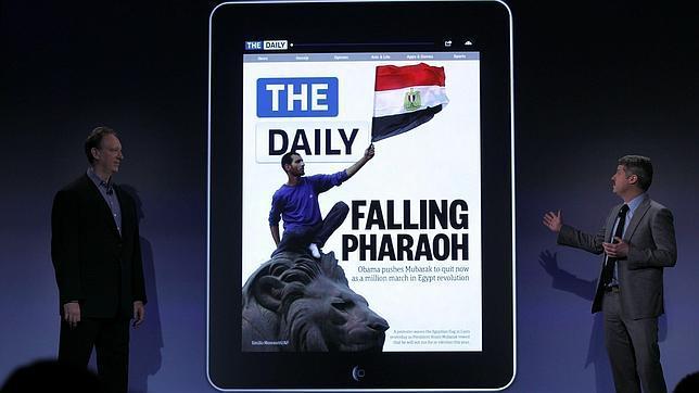 Murdoch echa el cierre al «Daily», su diario exclusivo para iPad