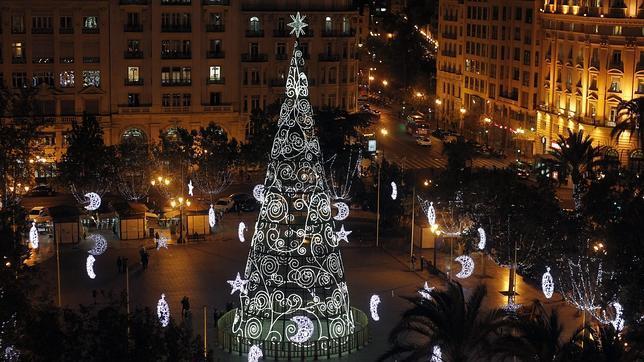 As son las luces de navidad de valencia - Iluminacion en valencia ...
