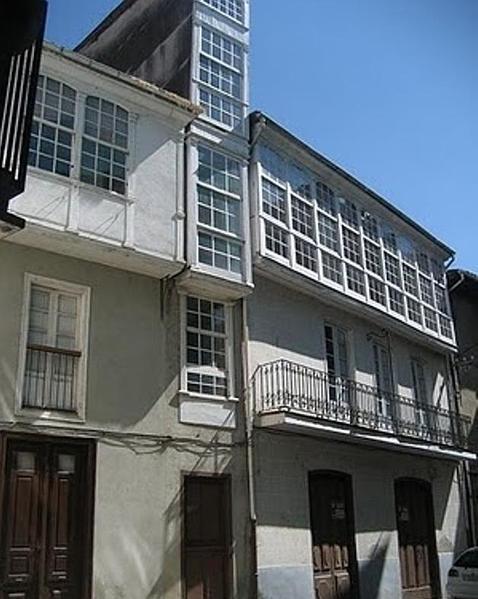 La Casa Es Muy Bonita Y Grande World Mediterranean: La Casa Más Estrecha De Galicia